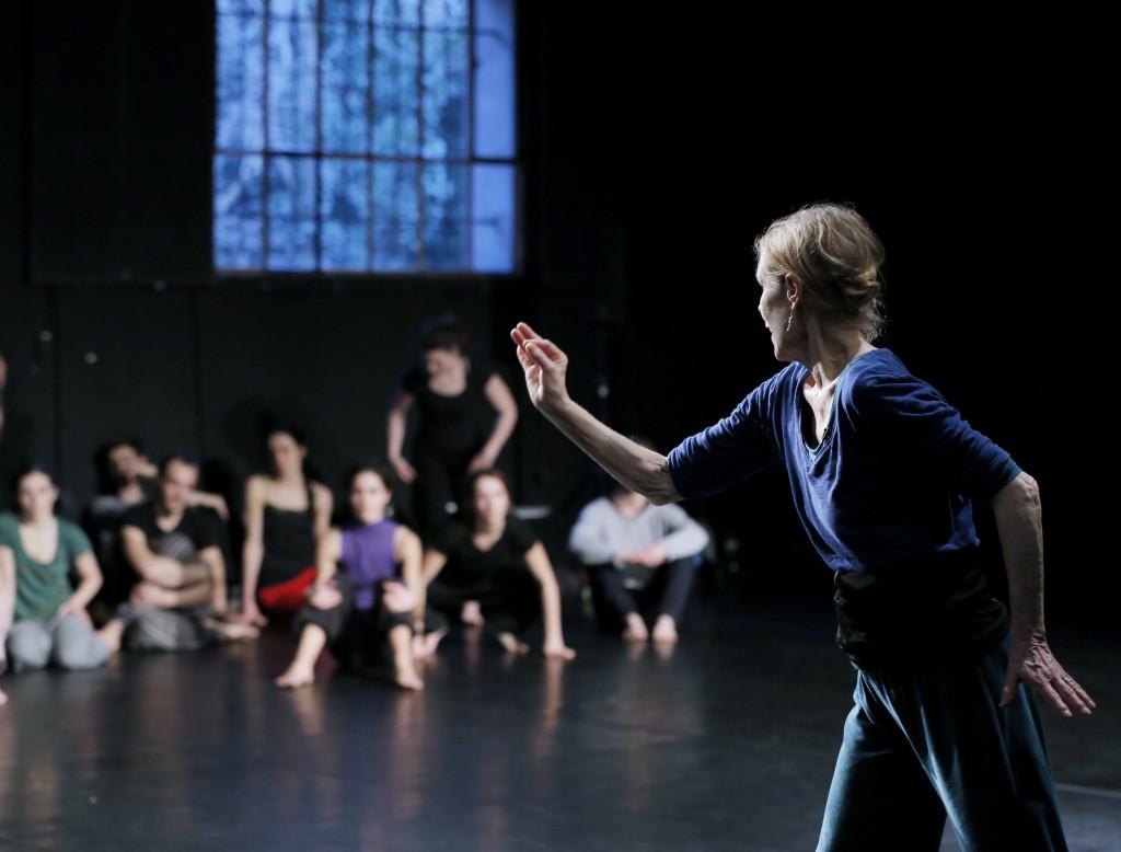 Masterclass Carolyn Carlson, 2014, CDC Atelier de Paris © Patrick Berger
